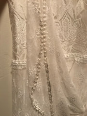 Grace Loves Lace 'Emanuela' size 6 used wedding dress view of material