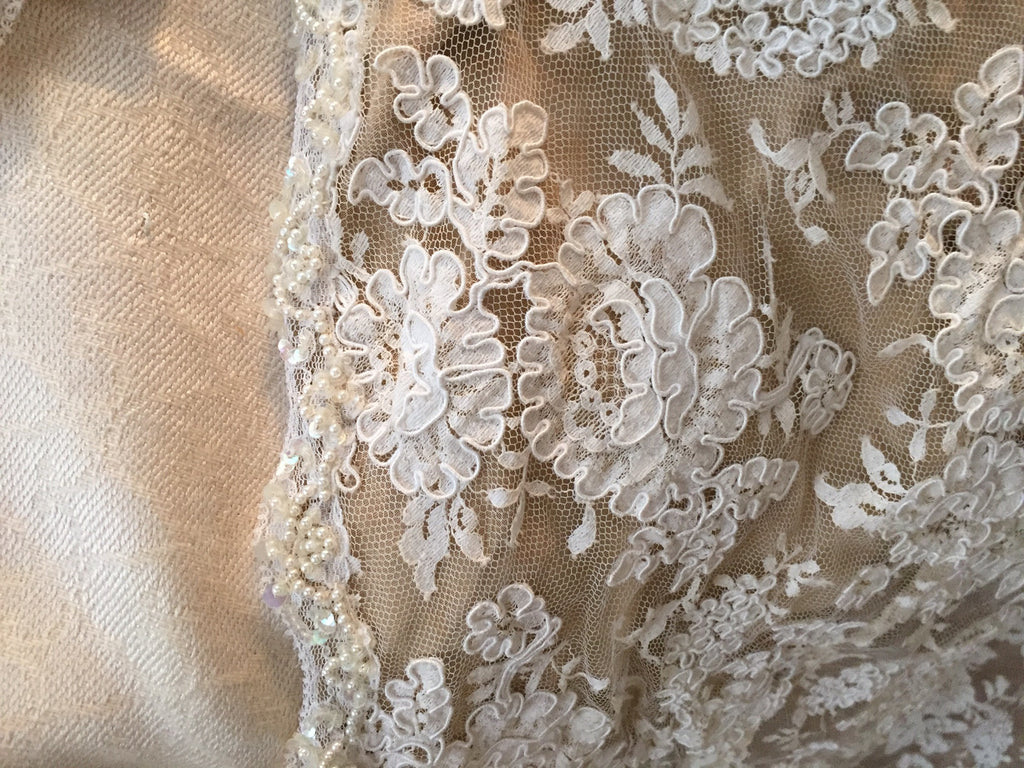 Custom 'Georgette of Boston' - Custom made - Nearly Newlywed Bridal Boutique - 5