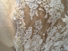 Custom 'Georgette of Boston' - Custom made - Nearly Newlywed Bridal Boutique - 6