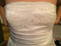 Custom Made Strapless Gown - Custom made - Nearly Newlywed Bridal Boutique - 4