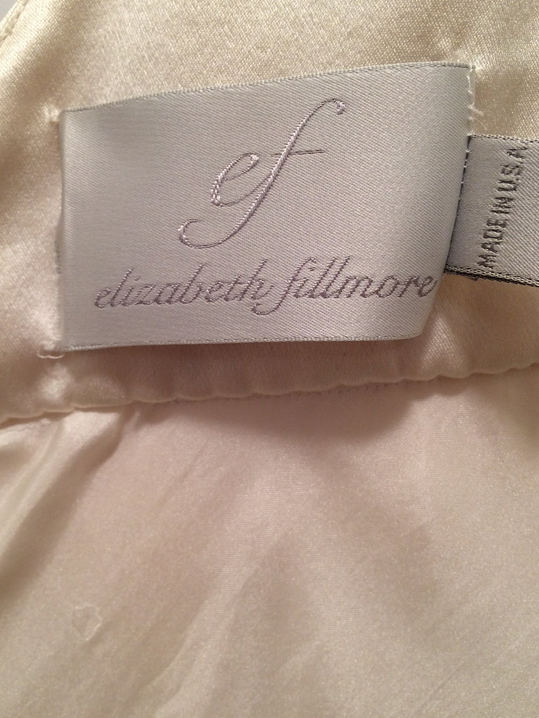 Elizabeth Fillmore 'V Dress' - Elizabeth Fillmore - Nearly Newlywed Bridal Boutique - 4