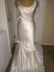 Elizabeth Fillmore 'V Dress' - Elizabeth Fillmore - Nearly Newlywed Bridal Boutique - 2
