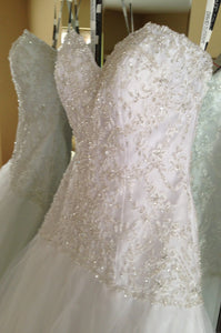 David Tutera for Mon Cheri 'Cora' - david tutera for mon cheri - Nearly Newlywed Bridal Boutique - 4