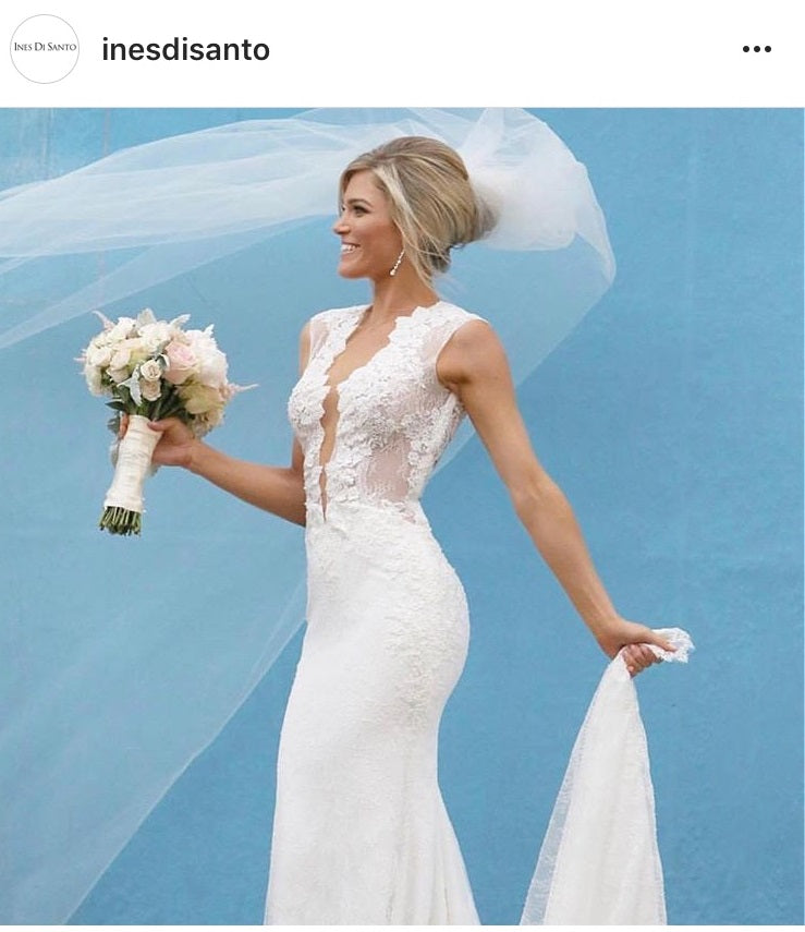Di Santo Wedding Gowns: Ines Di Santo 'Spicy' Size 2 New Wedding Dress