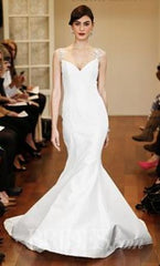 Isabelle Armstrong 'Helena' size 10 new wedding dress front view on model