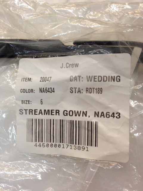 J Crew 'Streamer Gown' - j crew - Nearly Newlywed Bridal Boutique - 5