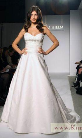 Jim Hjelm Sweetheart Gown - Jim Hjelm - Nearly Newlywed Bridal Boutique - 3