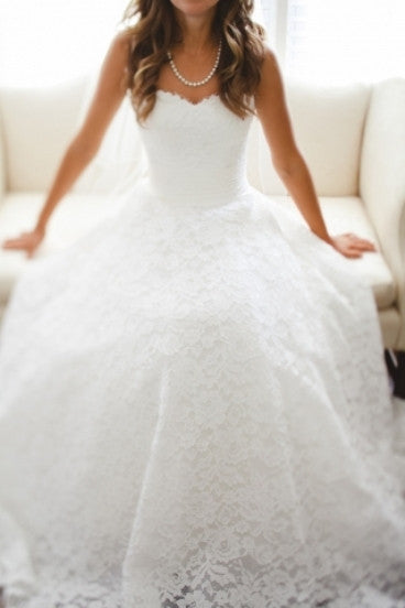 Justin Alexander style #8557 - JUSTIN ALEXANDER - Nearly Newlywed Bridal Boutique - 5