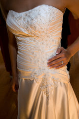 Essence of Australia 'Satin Vintage' - essence of australia - Nearly Newlywed Bridal Boutique - 2