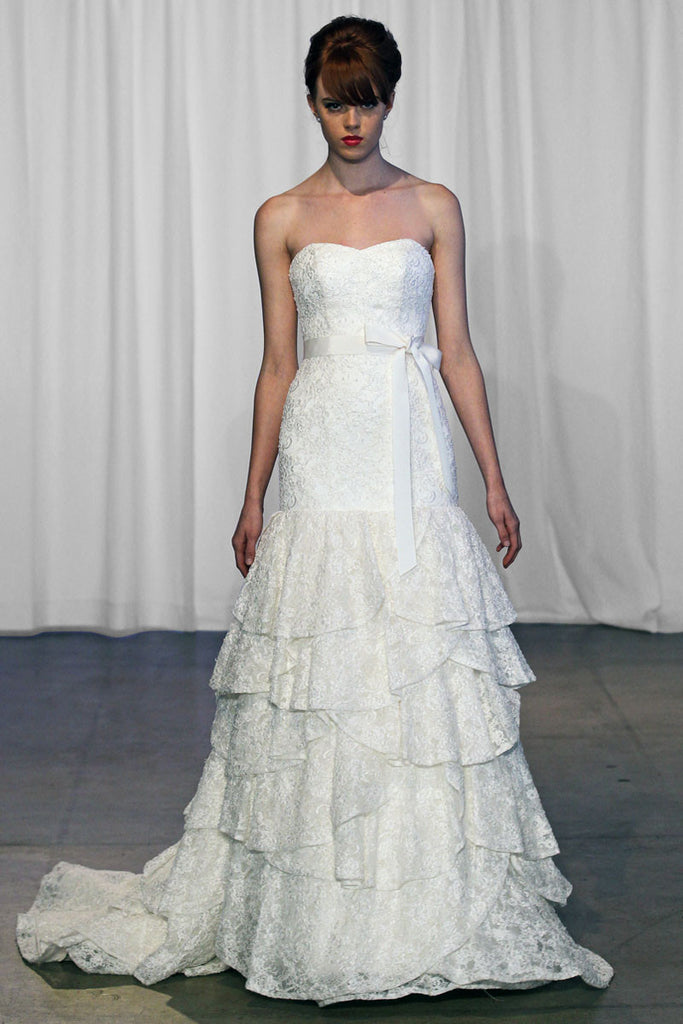 Kelly Faetanini 'Bailey' Alencon Lace - Kelly Faetanini - Nearly Newlywed Bridal Boutique