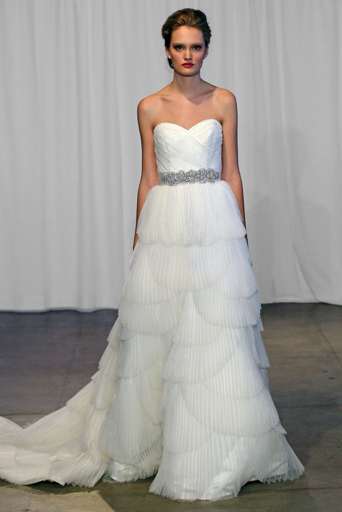 Kelly Faetanini 'Miley' Organza Ball Gown - Kelly Faetanini - Nearly Newlywed Bridal Boutique