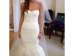 Monique Lhuillier 'Arielle' - Monique Lhuillier - Nearly Newlywed Bridal Boutique - 1