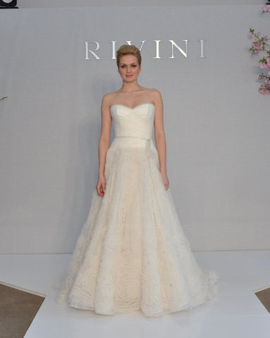 Rivini 'Kyra' Ruched Tulle Dress