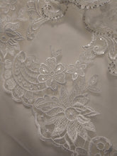 Load image into Gallery viewer, Mori Lee 'Karlee  '8207' size 10 new wedding dress view of fabric