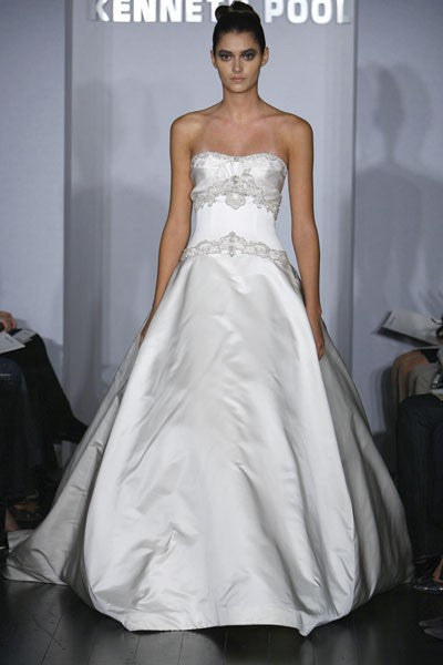 Kenneth Pool Majesty Ball Gown - Nearly Newlywed