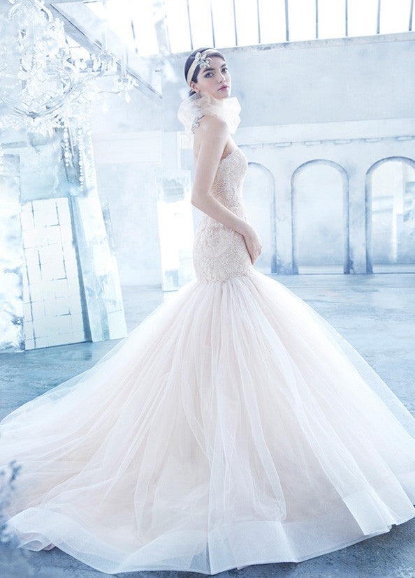 Lazaro '3402' - Lazaro - Nearly Newlywed Bridal Boutique - 2