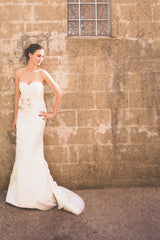 Mori Lee By Madeline Gardner Organza Gown - Mori Lee - Nearly Newlywed Bridal Boutique - 1