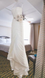 Mori Lee By Madeline Gardner Organza Gown - Mori Lee - Nearly Newlywed Bridal Boutique - 2