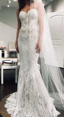 Lihi Hod 'Sienna' size 0 new wedding dress front view on model