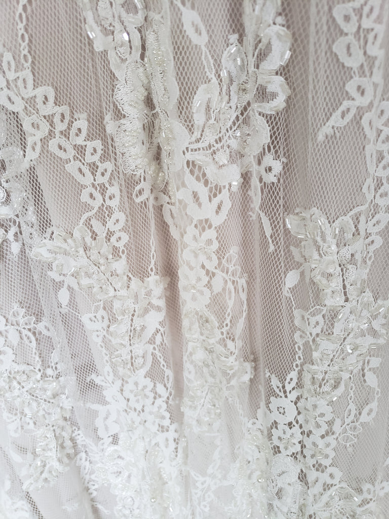 Lihi Hod 'Sienna' size 0 new wedding dress view of fabric