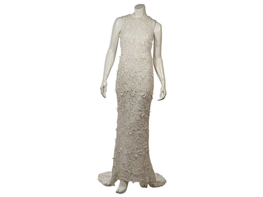 Oscar de la Renta 'Lace' - Oscar de la Renta - Nearly Newlywed Bridal Boutique - 3