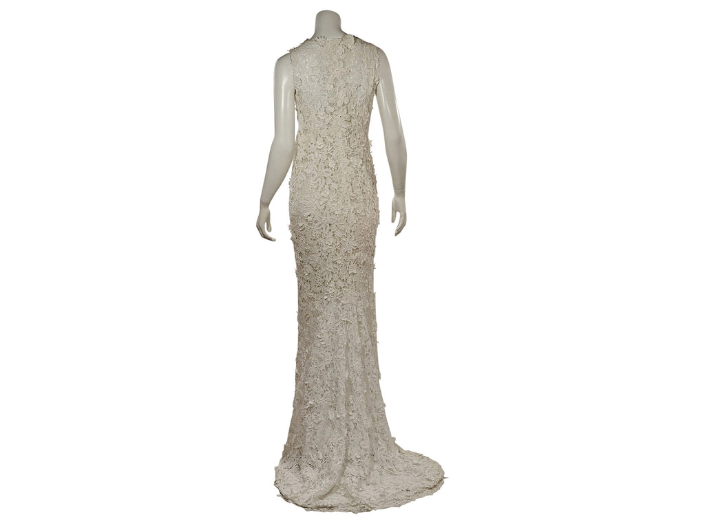 Oscar de la Renta 'Lace' - Oscar de la Renta - Nearly Newlywed Bridal Boutique - 5