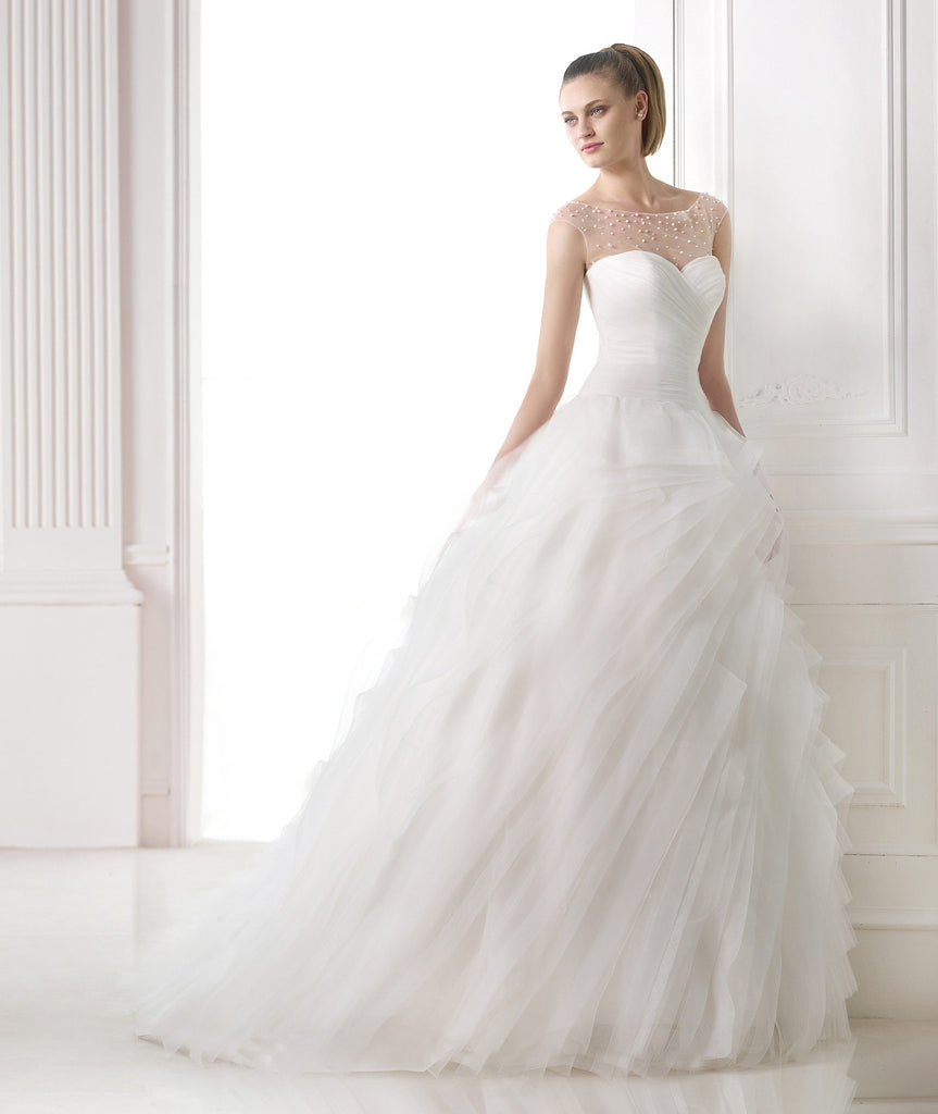 Pronovias 'Moana Misty' - Pronovias - Nearly Newlywed Bridal Boutique - 1