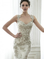 Maggie Sottero 'Jade' size 8 new wedding dress front view on model