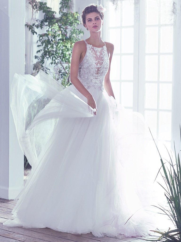 Maggie Sottero \'Lisette\' size 4 new wedding dress - Nearly Newlywed