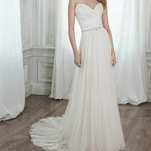 Load image into Gallery viewer, Maggie Sottero 'Patience' size 6 used wedding dress front view on model