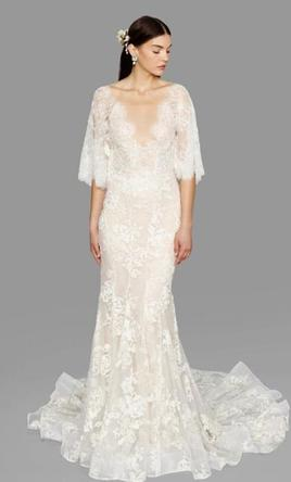 88e925a4d599 Marchesa 'Essence' size 4 used wedding dress - Nearly Newlywed