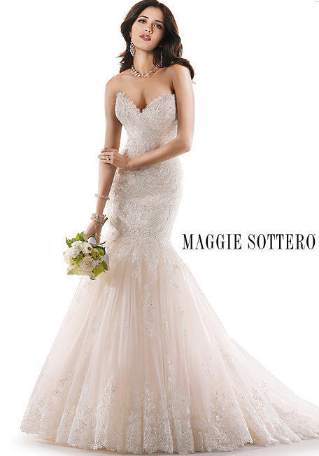 Maggie Sottero 'Marianne' - Maggie Sottero - Nearly Newlywed Bridal Boutique - 5