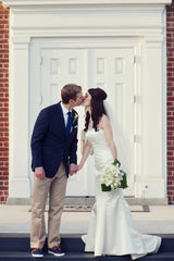 Michelle Roth 'Millie' Wedding Dress - Michelle Roth - Nearly Newlywed Bridal Boutique - 2