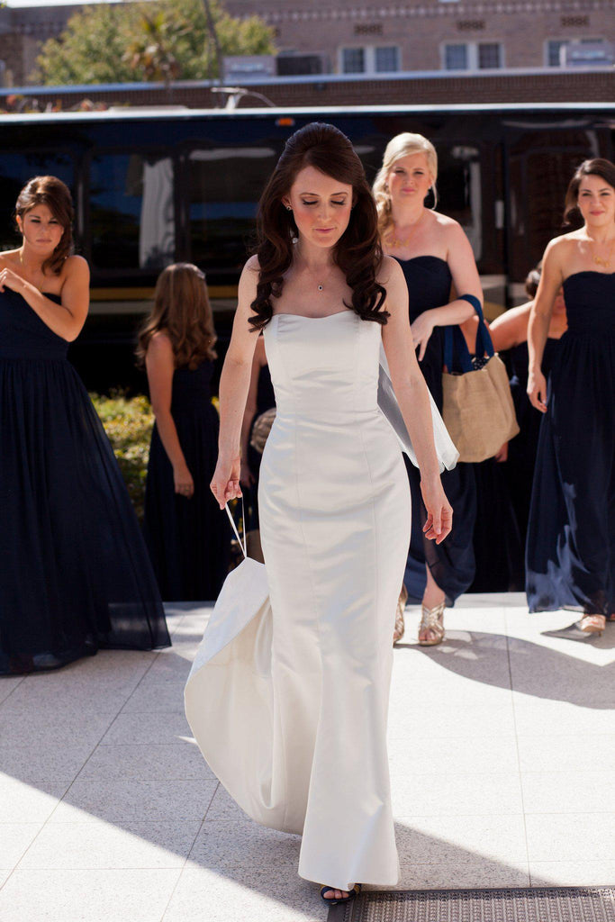 Michelle Roth 'Millie' Wedding Dress - Michelle Roth - Nearly Newlywed Bridal Boutique - 1