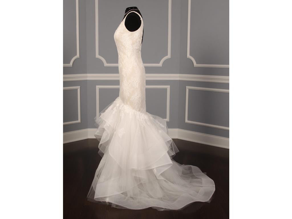 Monique Lhuillier 'Teagan' - Monique Lhuillier - Nearly Newlywed Bridal Boutique - 7