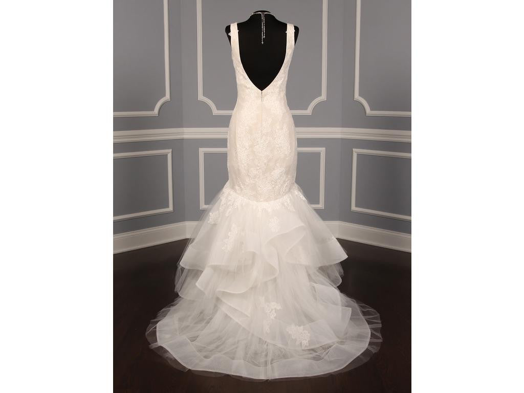 Monique Lhuillier 'Teagan' - Monique Lhuillier - Nearly Newlywed Bridal Boutique - 8