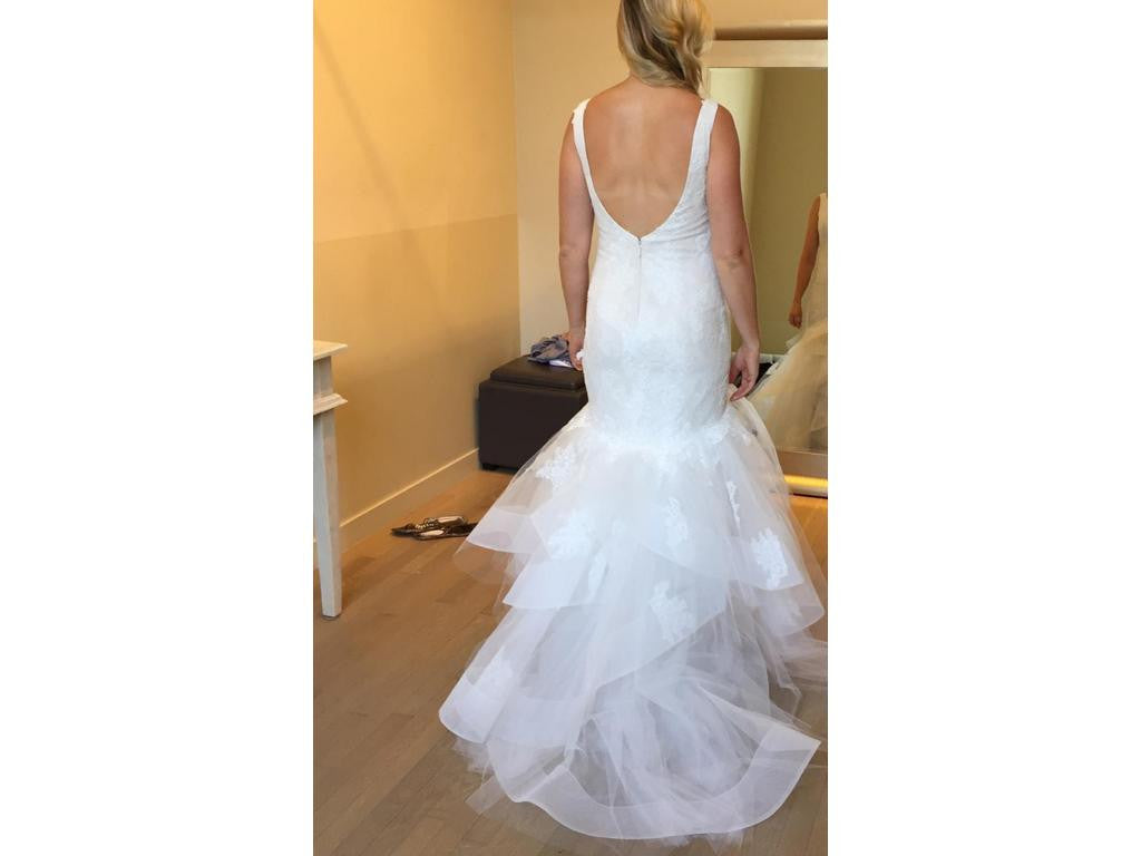 Monique Lhuillier 'Teagan' - Monique Lhuillier - Nearly Newlywed Bridal Boutique - 2