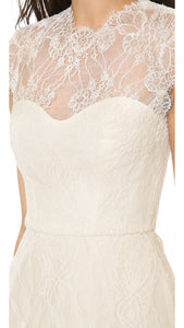 Monique Lhuillier 'Alessia Lace' - Monique Lhuillier - Nearly Newlywed Bridal Boutique - 7