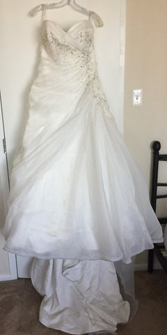 Nearly newlywed used wedding dresses sales buy sell preowned sophia tolli crystal junglespirit Images
