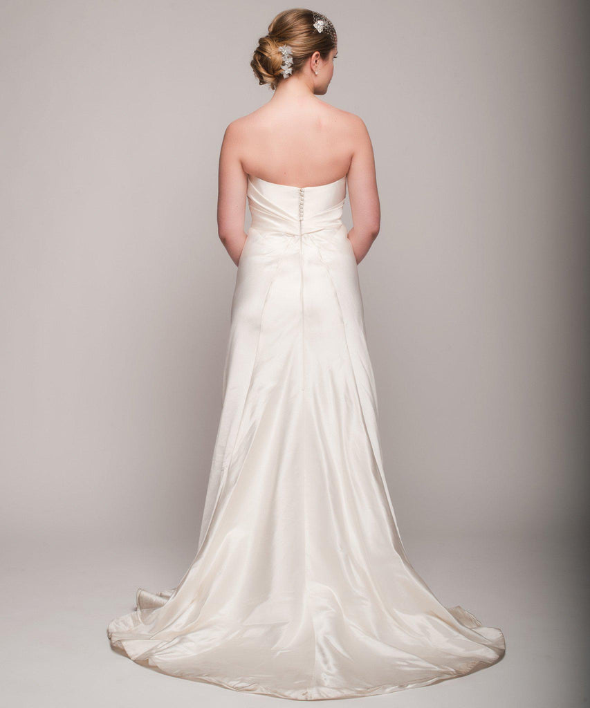 Ulla Maija 'Felicite' Satin Gown - Ulla Maija - Nearly Newlywed Bridal Boutique - 5