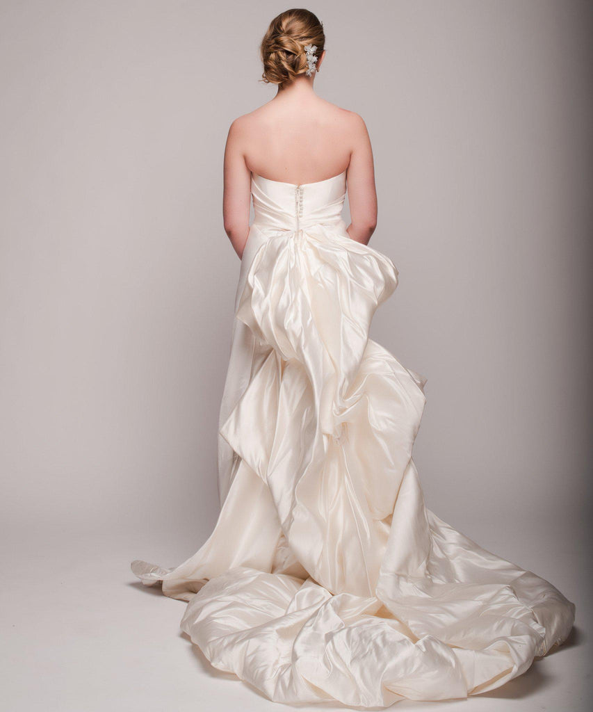 Ulla Maija 'Felicite' Satin Gown - Ulla Maija - Nearly Newlywed Bridal Boutique - 4