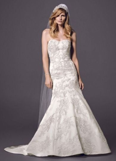Oleg Cassini 'Satin Lace'