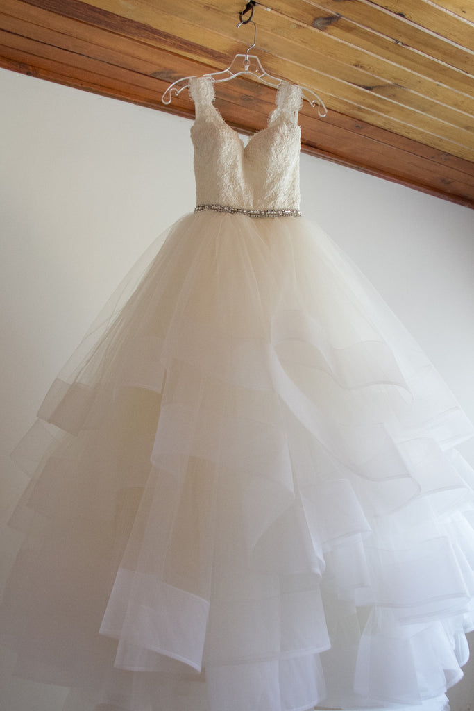Lazaro style #LZ3309 - Lazaro - Nearly Newlywed Bridal Boutique - 1