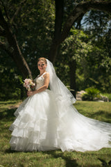 Lazaro style #LZ3309 - Lazaro - Nearly Newlywed Bridal Boutique - 4
