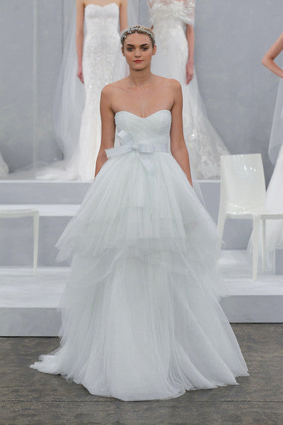 Monique Lhuillier 'Oceana' - Monique Lhuillier - Nearly Newlywed Bridal Boutique
