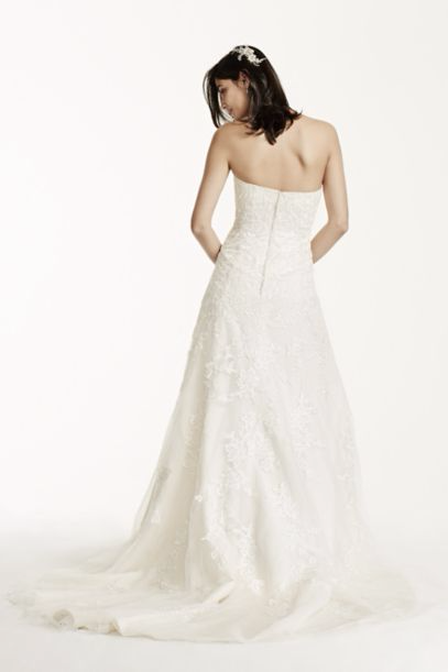 David's Bridal 'Sweetheart A Line' - David's Bridal - Nearly Newlywed Bridal Boutique - 2