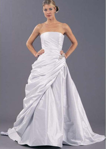 Romona Keveza Grace A-Line Wedding Dress