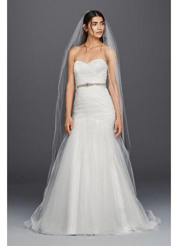 David's Bridal 'Lace Up'