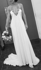 Amanda Wakeley Halter Gown - Amanda Wakeley - Nearly Newlywed Bridal Boutique - 1