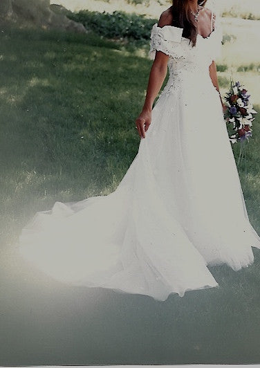 Frank Masandrea Diamond Collection Gown - unknown - Nearly Newlywed Bridal Boutique - 1